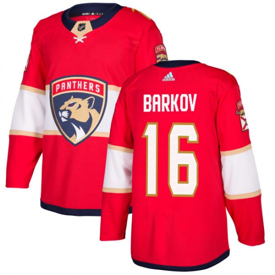 Men's Florida Panthers Aleksander Barkov Adidas Authentic Jersey - Red