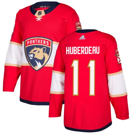 Men's Florida Panthers Jonathan Huberdeau Adidas Authentic Jersey - Red
