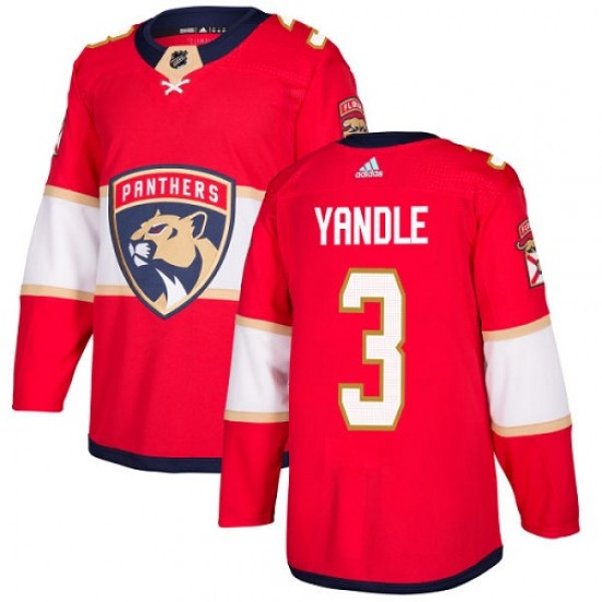 Youth Florida Panthers Keith Yandle Adidas Authentic Home Jersey - Red